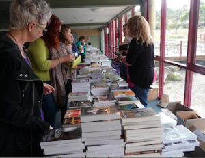 Omega Writer's Conference Bookstall
